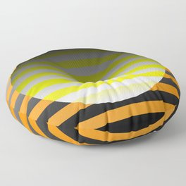 Spin Around In Circles Floor Pillow