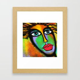 Big Eyes of Hope Framed Art Print