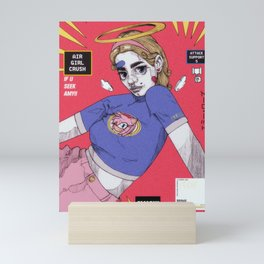 amy girl Mini Art Print