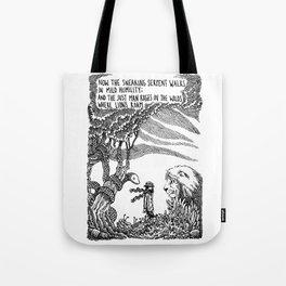 William Blake Illustration Tote Bag