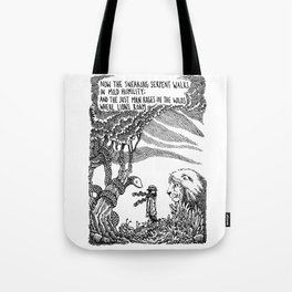 William Blake Illustration Tote Bag