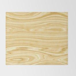 Elegant Wood 3 Throw Blanket