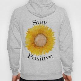 Stay Positive Sunflower Hoody