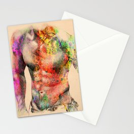 body nude art Stationery Cards
