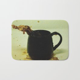 Drink coffee every morning to be better person Bath Mat