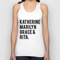 hollywood Tank Tops featuring Old Hollywood by NameGame