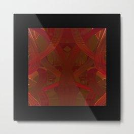 Hoop Dance Reds dpa150607.d1 Metal Print