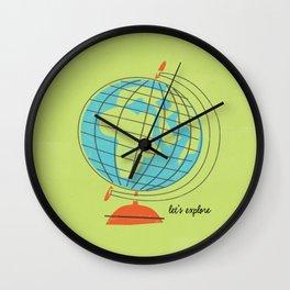 Let's Expore Wall Clock