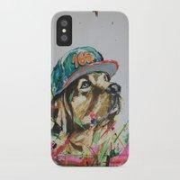 labrador iPhone & iPod Cases featuring LABRADOR by EDSON RAMOS