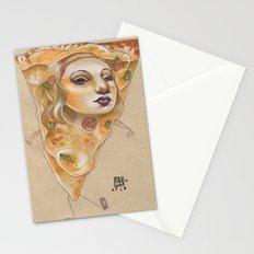 PIZZA LADY Stationery Cards