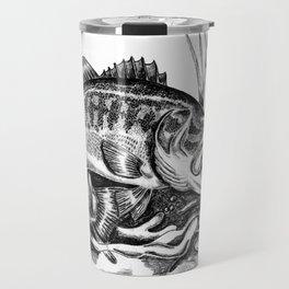 Black Bass Travel Mug