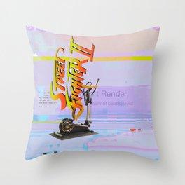 ΔCIDSUNG Throw Pillow