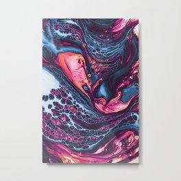 Tasty Fluid Metal Print