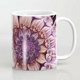 Noblesse 2, Modern Abstract Fractal Art Coffee Mug