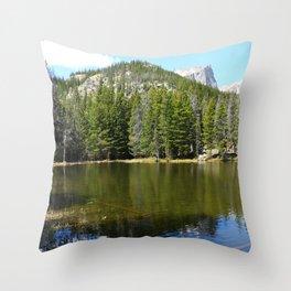 Nymph Lake Serenity Throw Pillow