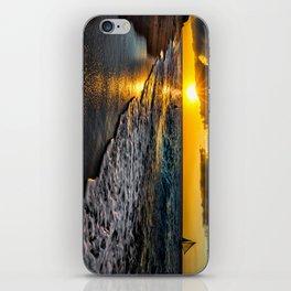 Puka Beach Sunset iPhone Skin