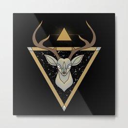 Mystic Deer Metal Print