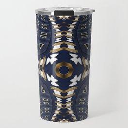 Liquid Denim Blue Travel Mug