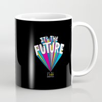 future Mugs featuring The Future by Chris Piascik