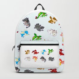 httyd pattern Backpack