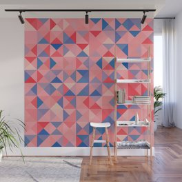colorful Triangles 1 Wall Mural