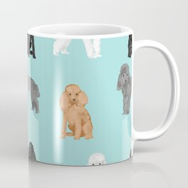 Toy Poodles mixed coat colors dog breed gifts pet portraits must haves poodles Coffee Mug
