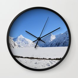 March in Portage Valley - 2 of 4 Wall Clock