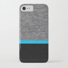 Athletic Grey and Blue iPhone 7 Slim Case
