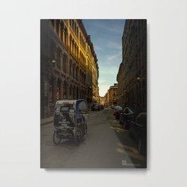 Montreal Streets Metal Print