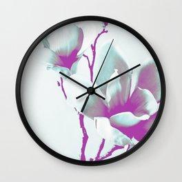 Magnolia Art Wall Clock