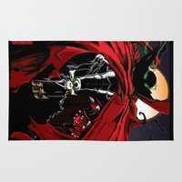 spawn Area & Throw Rugs featuring Spawn by Shawn Norton Art
