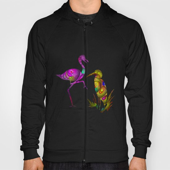 exotic birds Hoody