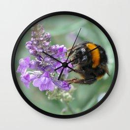 Hello Flower! Wall Clock