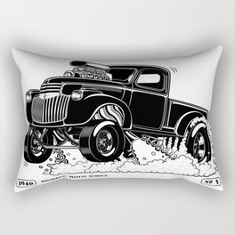 1946 Chevy Pick-up – BLACK Rectangular Pillow