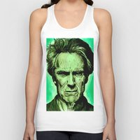 clint eastwood Tank Tops featuring Clint Eastwood by Jason Hughes