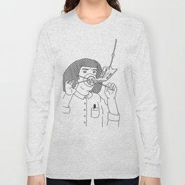 I Love True Crime - Feminine Version Long Sleeve T-shirt