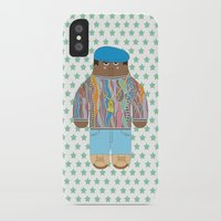 biggie iPhone & iPod Cases featuring Biggie by Late Greats by Chen Reichert