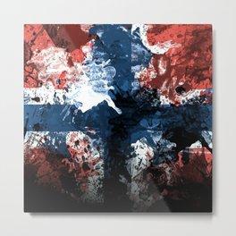 The Norwegian Metal Print