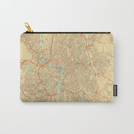 Toulouse Map Retro Carry-All Pouch