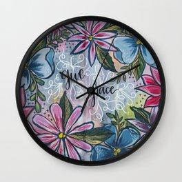 Give Grace Wall Clock