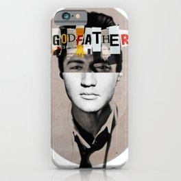 Godfather Mix 2 white iPhone Case