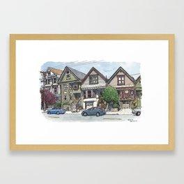 18th St, San Francisco Framed Art Print