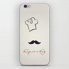 keep cooking iPhone & iPod Skin