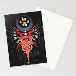 DreamCatcher-Wolf Spirit Stationery Cards