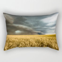Earth Mover - Storm Advances Across Great Plains in Colorado Rectangular Pillow