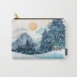 Happy Litlle Wildlife Carry-All Pouch