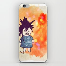 Bad Hair Day iPhone Skin