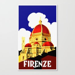 Firenze - Florence Italy Travel Canvas Print