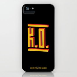 PAUSE – K.O. iPhone Case