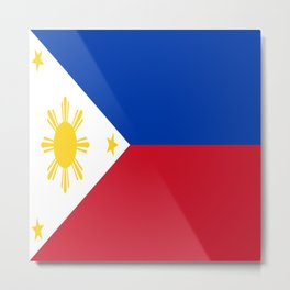 Flag of the Philippines Metal Print